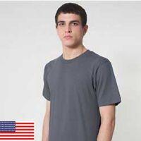 American Apparel Men Fine Jersey Short Sleeve Tall T Shirt T-Shirt 2001TL