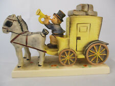 "Goebel Hummel ""The Mail Is Here"" Horses Pulling Mail Carriage #226"