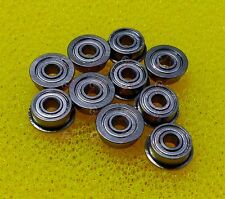 5 PCS MF84zz (4x8x3 mm) Flange Metal Double Shielded Ball Bearing 4*8*3 Flanged