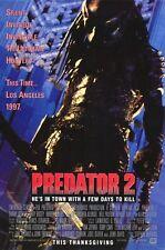 Predator 2 - original DS movie poster  D/S 27x40 - 1990