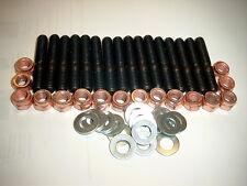 Abgaskrümmer Stehbolzensatz Muttern u.Uscheiben16 St. für Audi 5 Zy 3B AAN 20 V