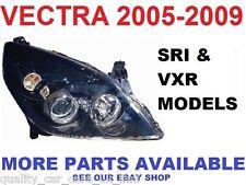 05-09 VAUXHALL VECTRA C FACELIFT HEADLIGHT HEADLAMP OFF DRIVERS RIGHT RH SIDE.