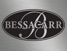 Oval Bessacarr Logo Camper Van Motor Home vinyl decals stickers windows Caravans