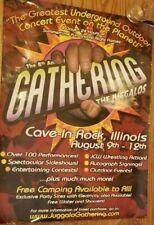 Insane Clown Posse - Gathering of the Juggalos 2007 Poster 18x24 twiztid esham