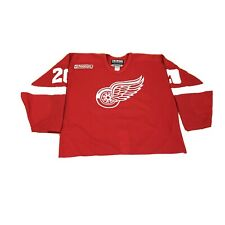 Detroit Red Wings Martin Lapointe Game Worn Jersey Size 56