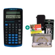 TI 30 ECO RS Taschenrechner + Schutztasche GeometrieSet Lern-CD