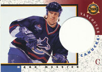 MARK MESSIER 1997-98 Pinnacle Mint Collection Die-Cut #13 Vancouver Canucks Card