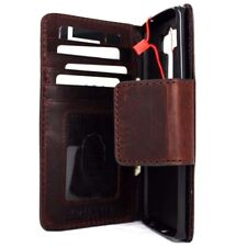 genuine vintage leather case fit LG V10  wallet book cover mgnet barcket slim 10