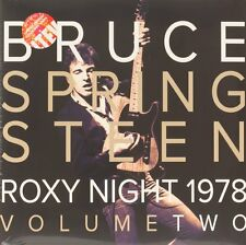 Roxy Night 1978. Volume Two  BRUCE SPRINGSTEEN Vinyl Record