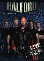 Halford - Resurrection World Tour Live At (NEW DVD+CD)