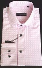 Cotton Blend Textured Formal Shirts for Men