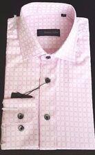Cotton Blend Check Single Cuff No Formal Shirts for Men