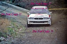 Pentti Airikkala Mitsubishi Galant VR-4 Winner RAC Rally 1989 Photograph 1