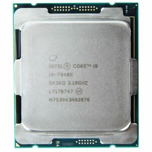 Intel Core i9-7940X 19.25M 4.30 GHz CD8067303734701 SR3RQ New CPU From Tray