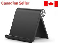 Universal Phone Stand Desk Holder Tablet Compatible for iPhone Samsung 10 black