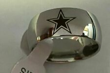 Dallas Cowboys Football Team Titanium Ring sizes 6-13 #dc4