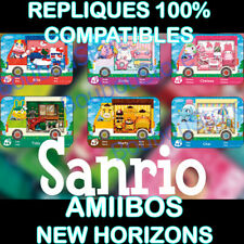AMIIBO SANRIO 2021 Animal Crossing New Horizons - COMPATIBLES (lire description)