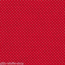 Punkte 2mm Stoffe Meterware Baumwollstoff Tupfen Dots Patchwork Gepunktet 9,70€m