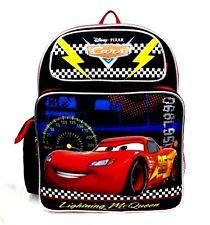 "Disney Pixar Cars Boys 14"" Medium Canvas School Backpack"