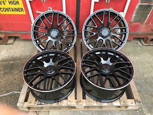 "18"" Mercedes C63 AMG Style Alloy Wheels for Mercedes C-Class E-Class CLA"
