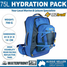 OZtrail 75l Quest Backpack Bag Outdoor Camping Hiking Travel Luggage Rucksack