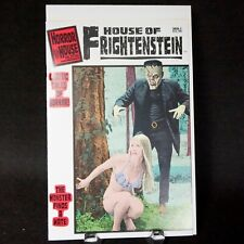 """HORROR HOUSE PUBLICATIONS """"HOUSE OF FRIGHTENSTEIN"""" COMIC #1 Perfect  ACKERMAN"""