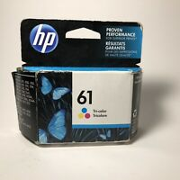 HP 61 CH562WN Tri Color Ink Cartridge NEW Exp. APR 2017 - free ship usa seller