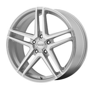 16x7 +40 American Racing AR907 Bright Silver 5x114.3 Wheel Rim (QTY 1)