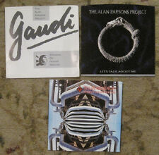 LOT of 3 ALAN PARSONS PROJECT 45rpm Picture Sleeves (ONLY!)