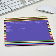 Tape Load c64 Commodore Dérapant Tapis de Souris Tapis de souris Muismat apple Windows