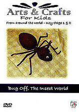 Arts And Crafts For Kids - Key Stage 1&2 - Bug Off - The Insect World [DVD], DVD