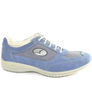 Sneakers Sportive Scarpe blu chiaro Uomo Light Step GRISPORT 8123 Made in Italy