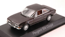 Peugeot 504 Coupe' 1969 Brown Metallic 1:43 Model 475433 NOREV