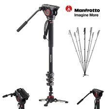 Manfrotto MVMXPRO500 XPRO Aluminum Video Monopod with 500 Series Fluid Head set