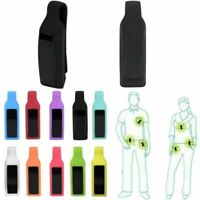Silikon Klammer Halter Gürtel Metall Clip Für Fitbit Alta Uhr Sports Tracker