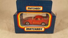 Matchbox Special Edition #59 Porsche 944 / Rare Creditcharge Promo / Mint Boxed