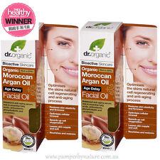 Dr Organic Moroccan Argan Oil Facial Oil - Age Delay 2 x 30ml