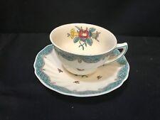 """Royal Doulton England  """"LOWESTOFT BOUQUET""""  Tea Cup & Saucer #D6023"""