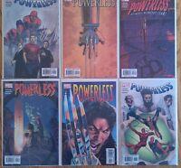 """""""Powerless"""" 1st print """"what-if"""" type series w/ Spider-Man, Wolverine & Daredevil"""