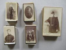 Lot de 74 Photos Cdv et Carte Album Même Provenance Vers 1860/90