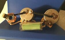VINTAGE STYLE GUITAR WIRING HARNESS C.T.S. SWITCHCRAFT VINTAGE REAL 1950`s CAP!