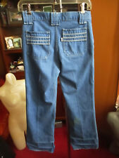 28x30 fit True Vtg 70s LEVIS MENS BOOTCUT DISCO POCKET Denim Relic Jeans