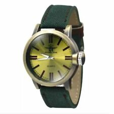 DOOKA  Michael John Green Leather Strap Watch