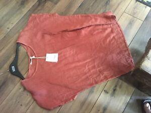 linen tunic 16,18 New By Francesca Bettini