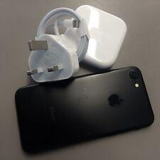 APPLE iPHONE 7 256GB BLACK UNLOCKED SIMFREE WITH GENUINE ACCESSORIES, NO BOX🇬🇧