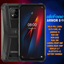 Ulefone Armor 8, Octa-Core, 4G, 16MP, Rugged, Android, 4GB+64GB, Smartphone
