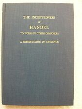 Indebtedness Handel Works Other Composers Sedley Taylor HB