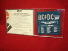AC/DC ~ Meltdown Summer Sampler  2000 US 5 TRACK (4 LIVE) PROMO CD SAMPLER