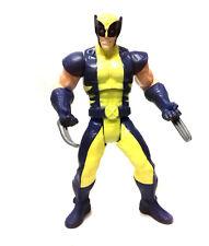 """Marvel Comics X Men Wolverine Logan 6"""" Figura de juguete clásico con acción de batalla"""