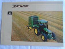 John Deere 2450 Tractor brochure undated English text ref 5-1894057